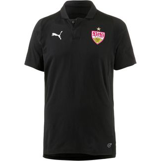 PUMA VfB Stuttgart Poloshirt Herren puma black-puma red