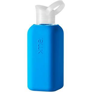 Squireme Trinkflasche neon blue
