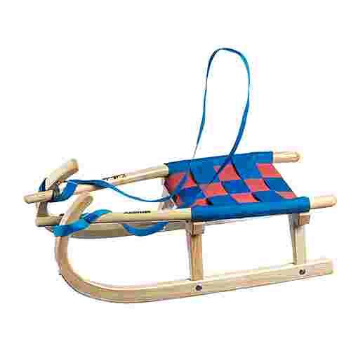 Kathrein Kinderbock Nr. 25 Schlitten Kinder blau/rot