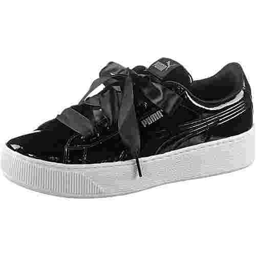 PUMA VIKKY PLATFORM RIBBON Sneaker Damen puma black-puma black