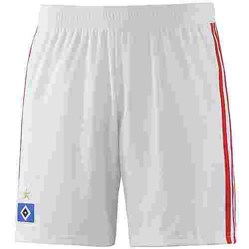 adidas Hamburger SV 18/19 Auswärts Fußballshorts Herren white