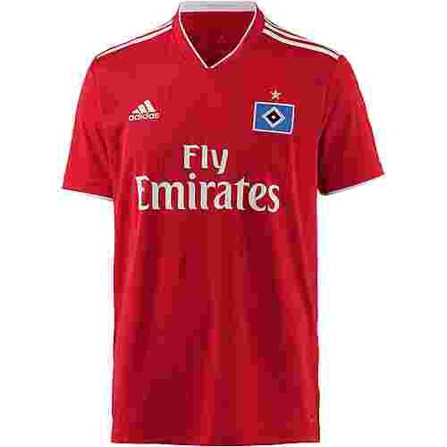 adidas Hamburger SV 18/19 Auswärts Fußballtrikot Herren scarlet