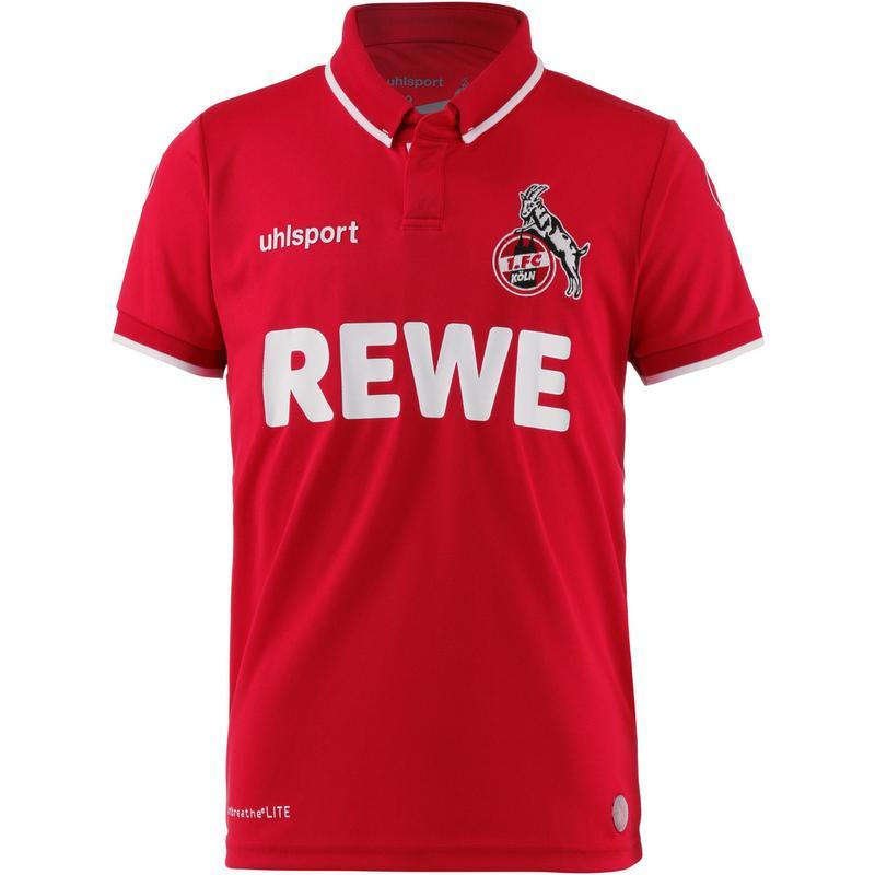 Uhlsport 1fc Köln 1819 Auswärts Fußballtrikot Kinder Rot Im Online