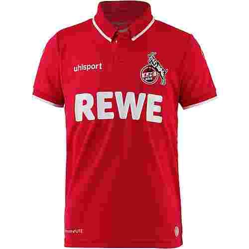 Uhlsport 1.FC Köln 18/19 Auswärts Fußballtrikot Kinder rot