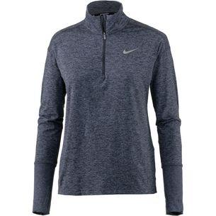 Nike Element Laufshirt Damen gridiron-ashen slate-heather