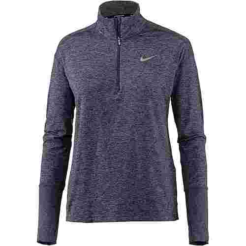 Nike Laufshirt Damen gridiron-ashen slate-heather