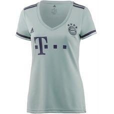 adidas FC Bayern 18/19 Auswärts Fußballtrikot Damen ash green