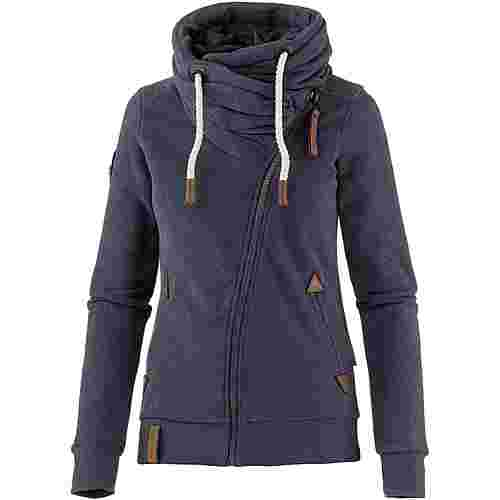 Naketano Jedi Path Sweatjacke Damen dark night-melange