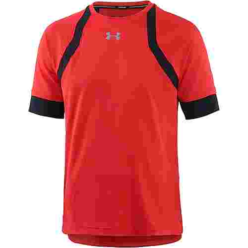 Under Armour Hexdelta Laufshirt Herren radio-red-black-reflective