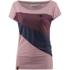 Naketano Herbert T-Shirt Damen schmutzmuschi pink-melange
