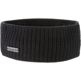 Eisglut Nin Merino Stirnband schwarz