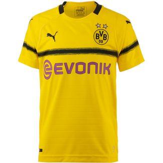 PUMA Borussia Dortmund 18/19 International Fußballtrikot Kinder cyber yellow
