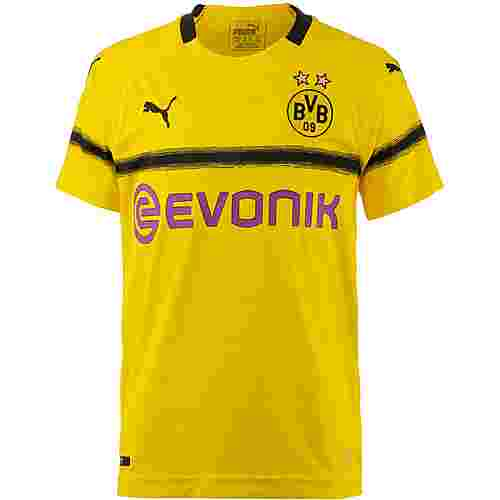 PUMA Borussia Dortmund 18/19 International Fußballtrikot Kinder cyber yellow