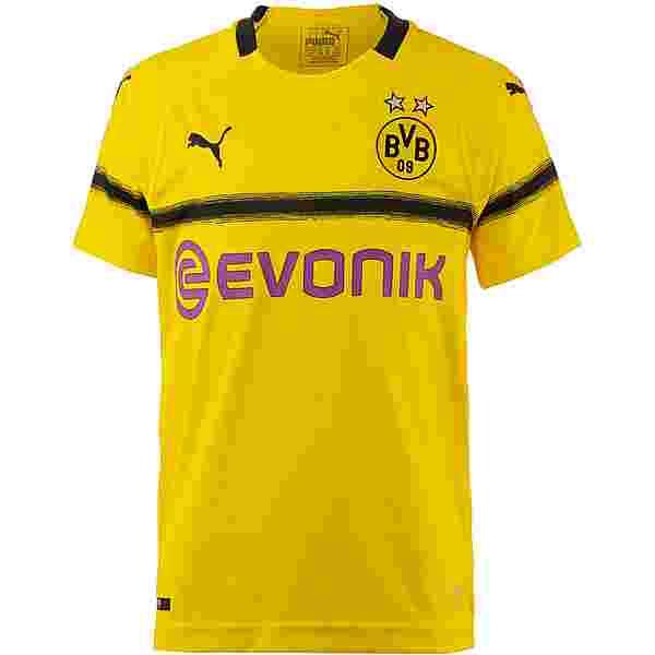 PUMA Borussia Dortmund 18/19 International Trikot Kinder cyber yellow