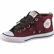CONVERSE Chuck Taylor All Star Street Sneaker Kinder dark burgundy-black-white