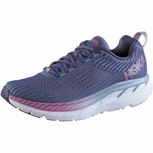 Hoka One One Clifton 5 Laufschuhe Damen marlin-blue-ribbon
