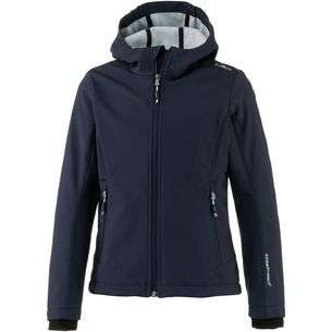 CMP Softshelljacke Kinder black blue