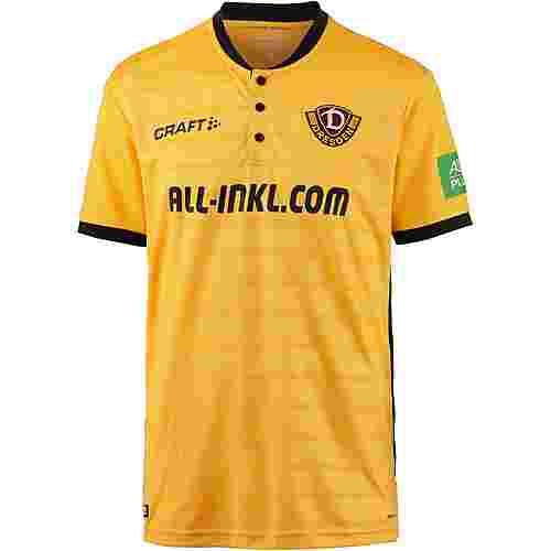 Craft Dynamo Dresden 18/19 Heim Fußballtrikot Herren yellow-black