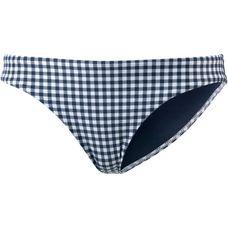 Seafolly Capri Check Bikini Hose Damen indigo