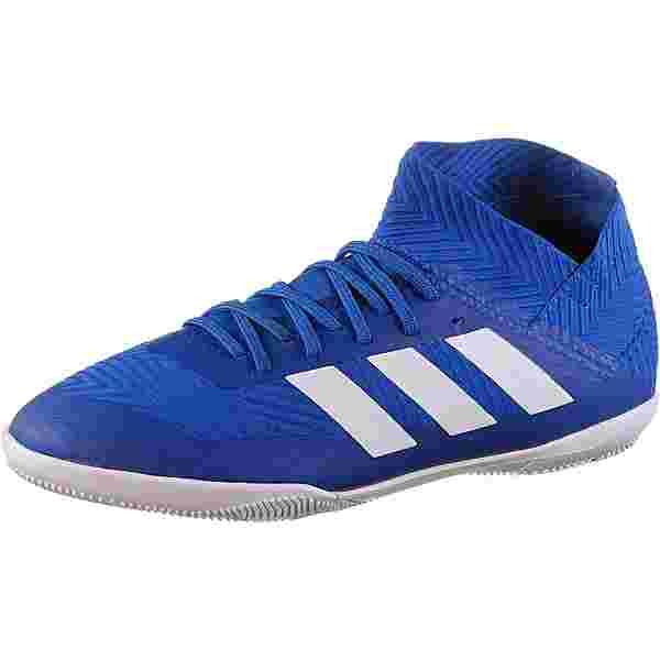 adidas NEMEZIZ TANGO 18.3 IN J Fußballschuhe Kinder football blue