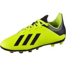 adidas X 18.4 FxG J Fußballschuhe Kinder solar yellow