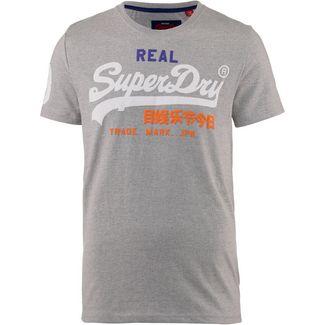 Superdry Vintage Logo T-Shirt Herren montana grey grit