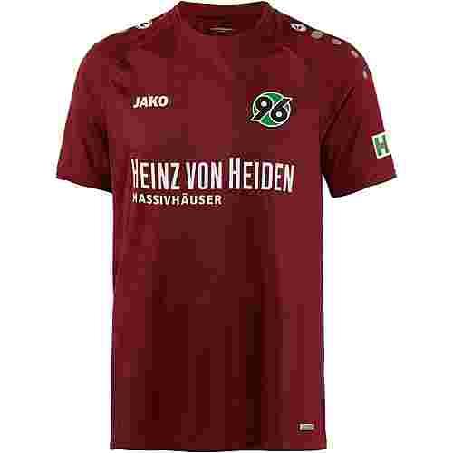 JAKO Hannover 96 18/19 Heim Fußballtrikot Herren bordeaux