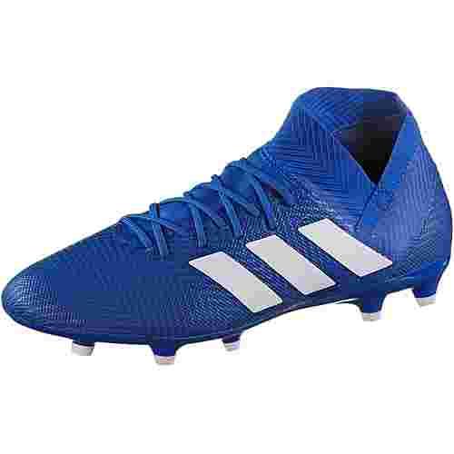 adidas NEMEZIZ 18.3 FG Fußballschuhe football blue