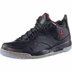 Nike JORDAN COURTSIDE 23 Basketballschuhe Herren black-gym red-particle grey