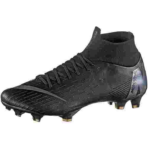 Nike MERCURIAL SUPERFLY 6 PRO FG Fußballschuhe black-anthracite-black-lt crimson
