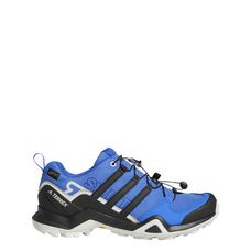 adidas TERREX Swift R2 GTX Wanderschuhe Damen Hi-Res Blue / Core Black / Grey One
