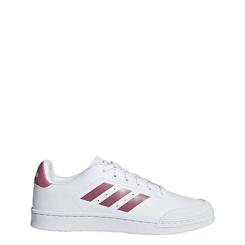 super popular 4c0df f853b adidas Court 70s Sneaker Damen Ftwr White  Trace Maroon  Cloud White