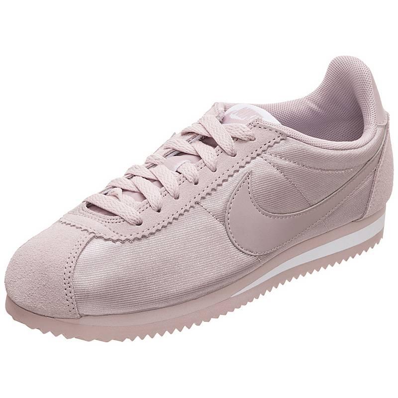 size 40 c2dea 9a3f2 Nike Classic Cortez Nylon Sneaker Damen rosa  weiß