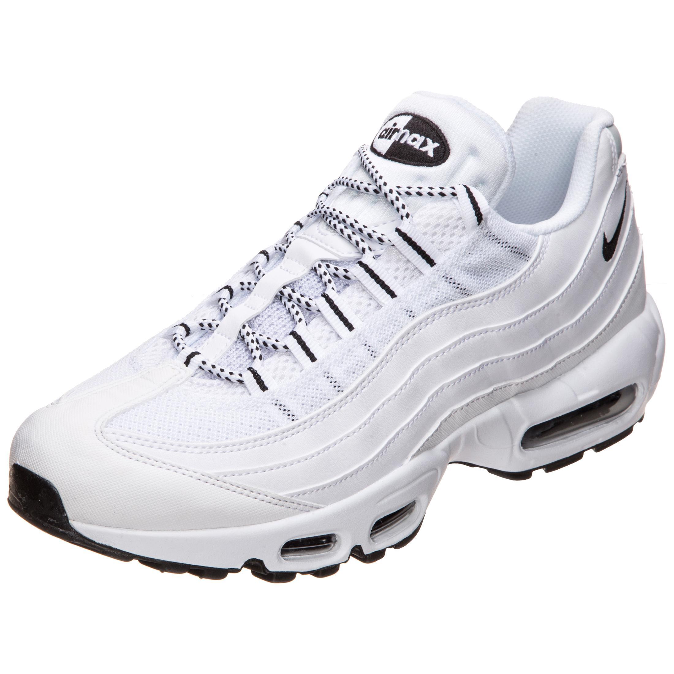 Nike Air Max 95 Sneaker Herren weiß / schwarz im Online Shop von ...