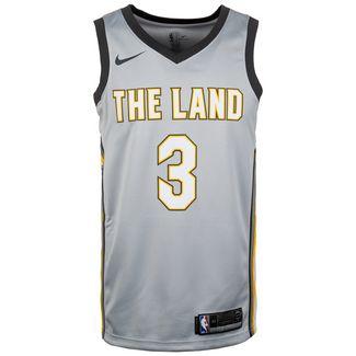 Nike Isaiah Thomas City Edition Swingman Basketballtrikot Herren silber / schwarz