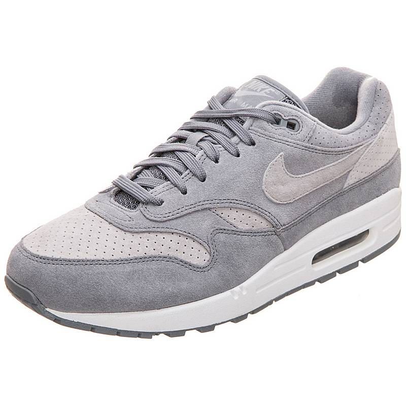 best authentic 6f85d 69700 Nike Air Max 1 Premium Sneaker Herren grau