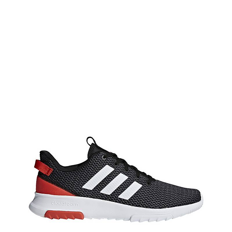 buy online d5c47 9e834 adidas Cloudfoam Racer TR Sneaker Damen Core Black  Ftwr White  Hi-Res Red