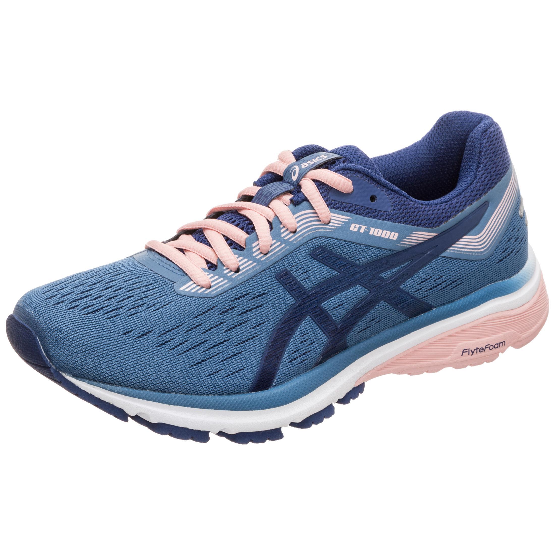 ASICS GT-1000 7 Laufschuhe Damen blau / rosa / weiß im Online Shop von SportScheck kaufen