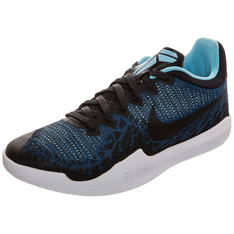 online store 07368 f4d7d Nike Kobe Mamba Rage Basketballschuhe Herren blau  schwarz