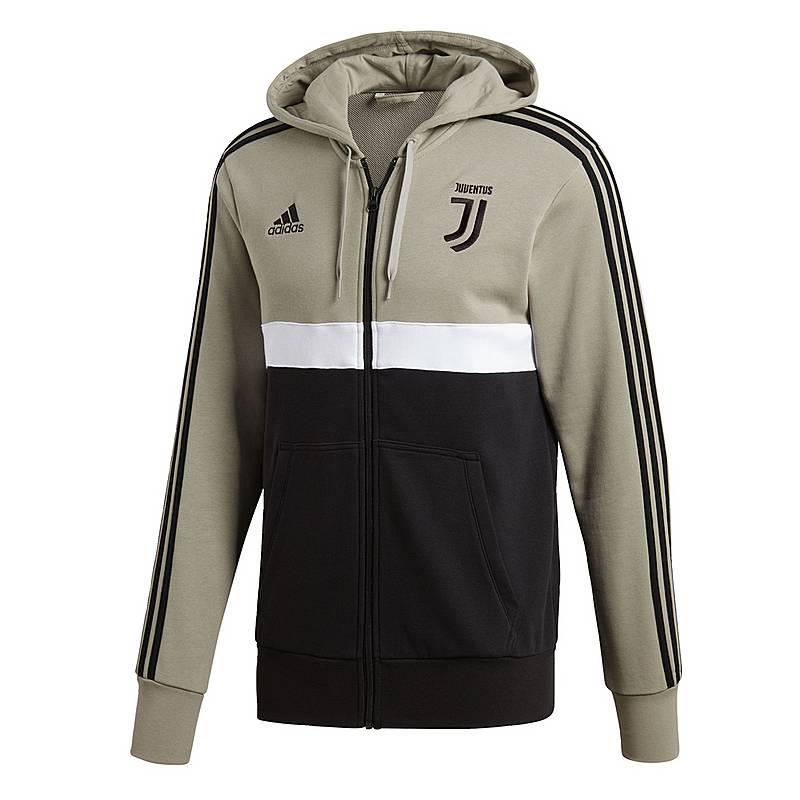 a790a1aed90c30 adidas Juventus 3-Streifen Track Trainingsjacke Herren Sesame   Black