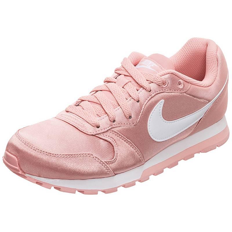 new concept 03c45 c5fd3 Nike MD Runner 2 Sneaker Damen korall  weiß