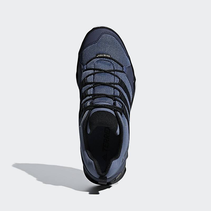 new product 12727 833f3 adidas TERREX AX2R GTX Wanderschuhe Damen Raw Steel  Core Black  Aero Blue.  Vollbild