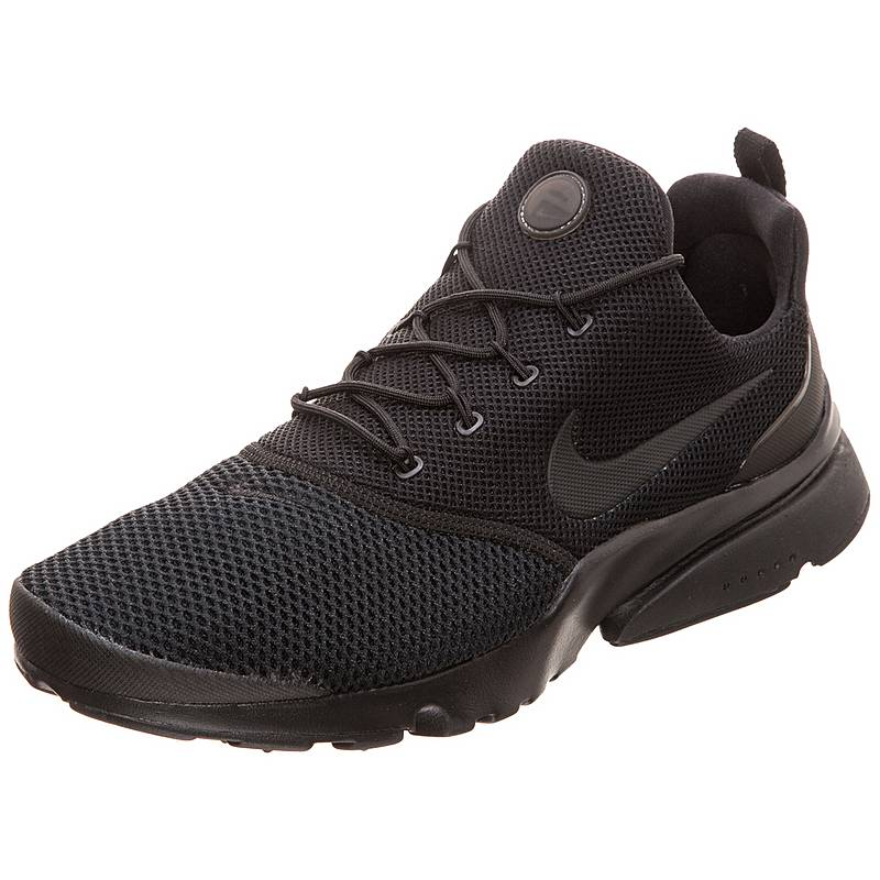 save off 42d8a 9a16b ... discount nike air presto fly sneaker herren schwarz ff79c 56bf0