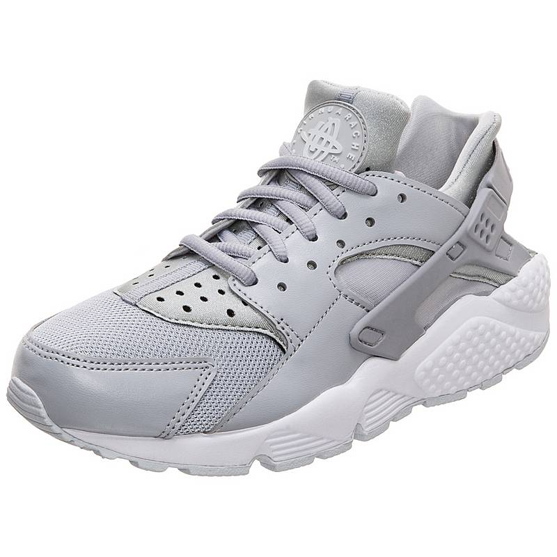 best sneakers b8447 725c5 Nike Air Huarache Run Sneaker Damen grau