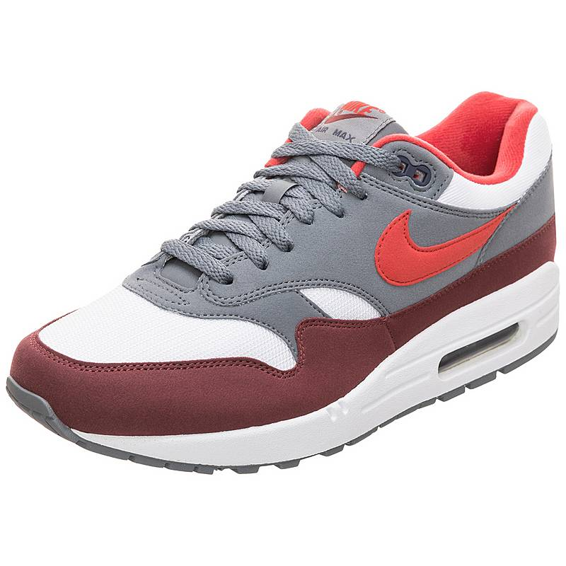 innovative design 41576 5e000 Nike Air Max 1 Sneaker Herren rot  grau