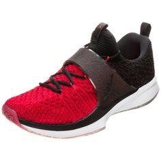 Nike Jordan Trainer 2 Flyknit Fitnessschuhe Herren rot / schwarz