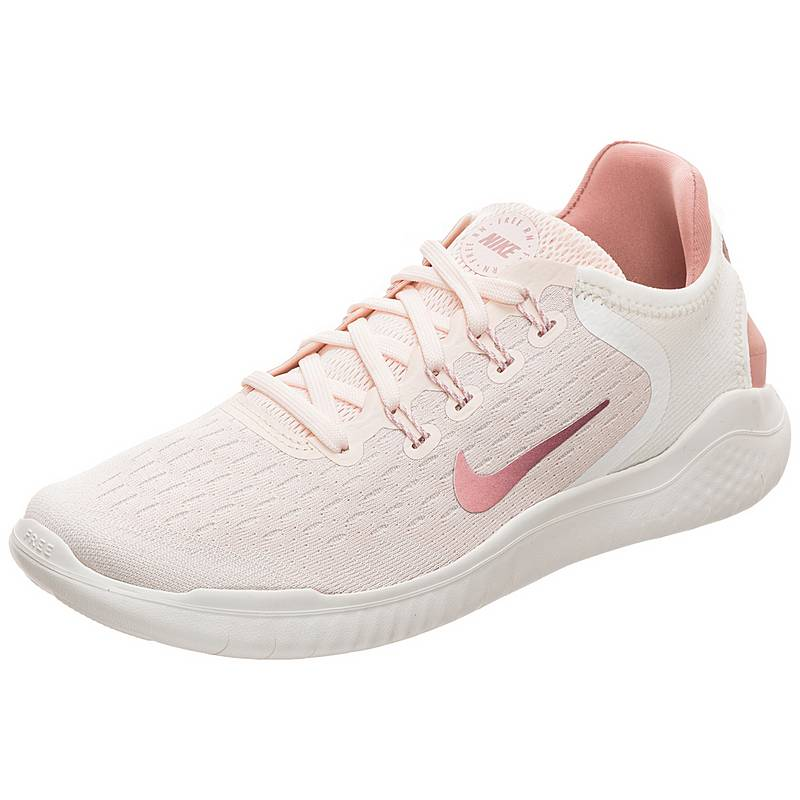 Nike Free RN 2018 Laufschuhe Damen rosa   beige im Online Shop von ... 0ba54a4099