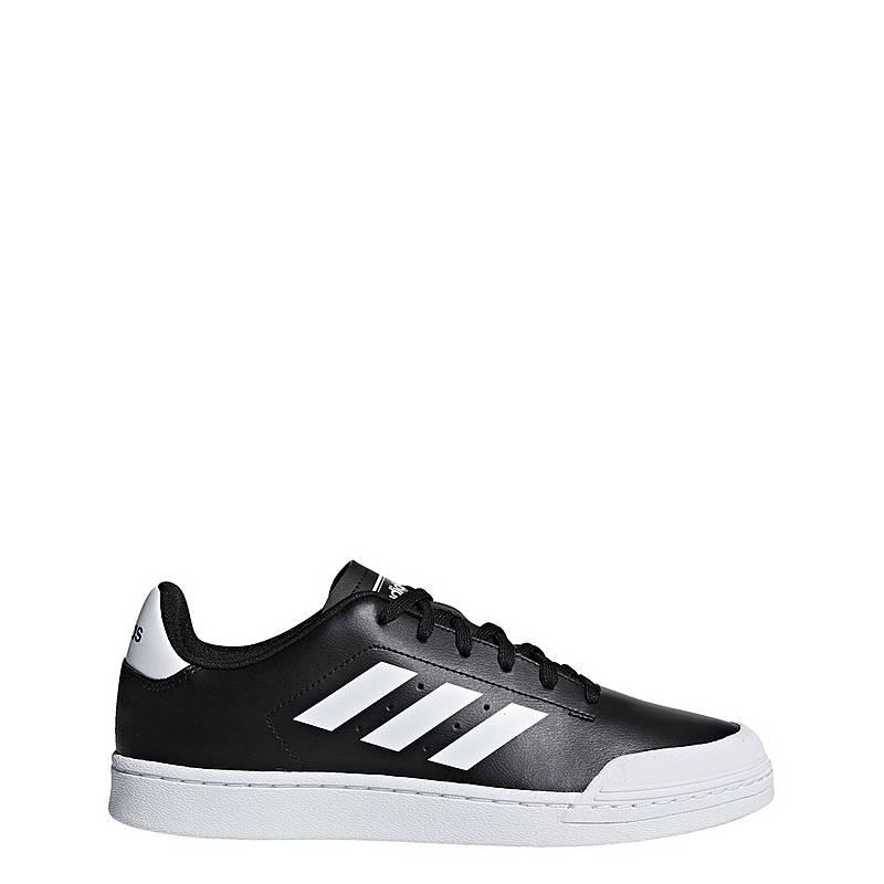 outlet store 4a4ae 507ec adidas Court 70s Sneaker Herren Core Black  Ftwr White  Ftwr White