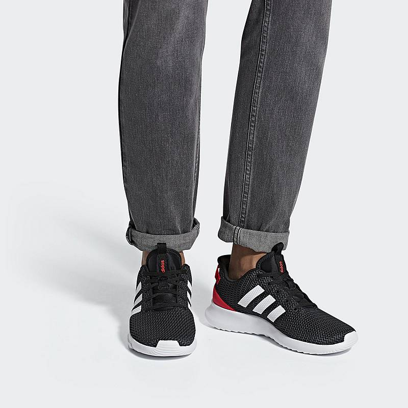 low priced 2eaab de62f adidas Cloudfoam Racer TR Sneaker Damen Core Black  Ftwr White  Hi-Res Red.  Vollbild