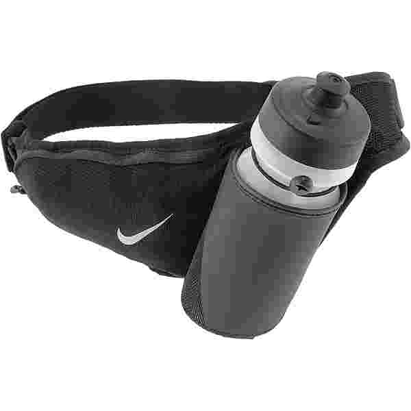 Nike Large Bottle Belt 655ml Trinkflaschengurt black-black-silver